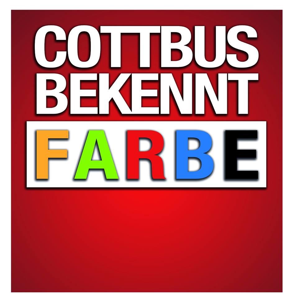 "Širší iniciativa ""Cottbus bekennt Farbe"""