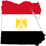 Flag-map-of-Egypt