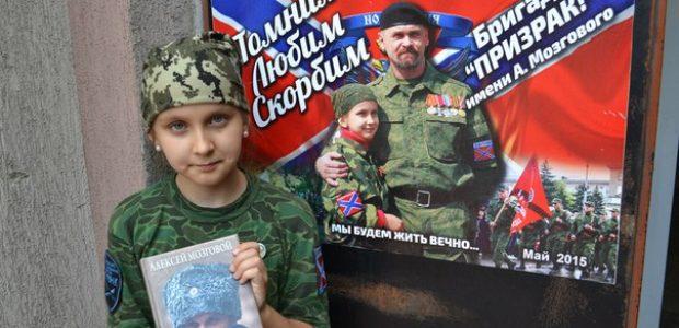 Bogdanka s knihou Alexeje Mozgového