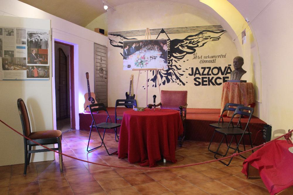 Jazzová sekce - křest knihy Milana Syručka