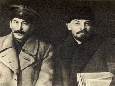 Lenin a Stalin 1919
