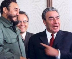 Fidel Castro a Brežněv