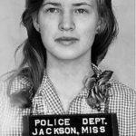 Joan Trumpauer Mulholland - fotka pri zadržaní