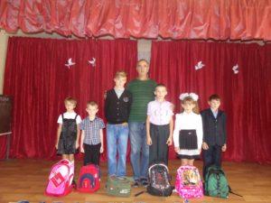 13. základní škola ve městě Alčevsku