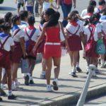 Děti z kubánské školy