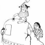 Ilustrace z knížky Komunismus pro děti