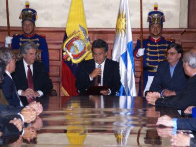 Lenín Moreno - prezident Ekvádoru (2017)