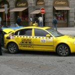 Taxík v Praze