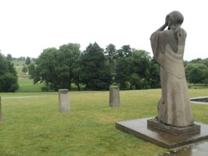 Lidice - socha