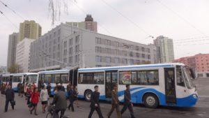 Doprava v Pchjongjangu - trolejbusy Čcholima