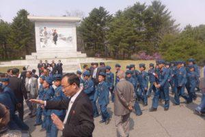 Rodiště prezidenta Kim Ir Sena v Mangjongde, Pchjongjang
