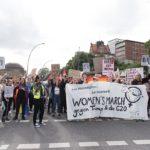 Pochod žen - G20 Hamburg