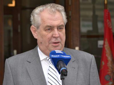 Prezident ČR - Miloš Zeman