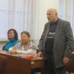 František Kovanda s Martou Semelovou a Věrou Hrdličkovou v lednu 2018