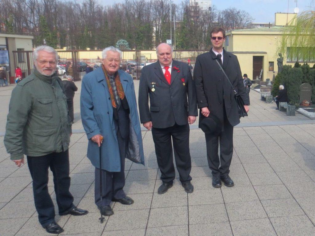 Jan Fojtík (druhý zleva) r. 2014